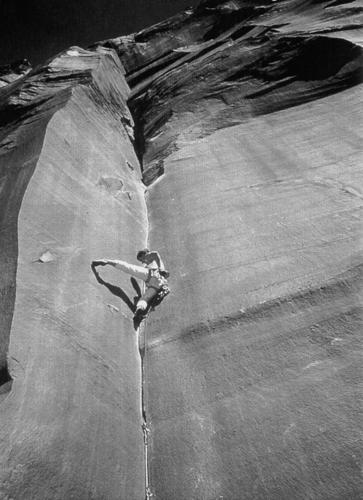 Desert Rock am Supercrack Buttress, Utah, USA
