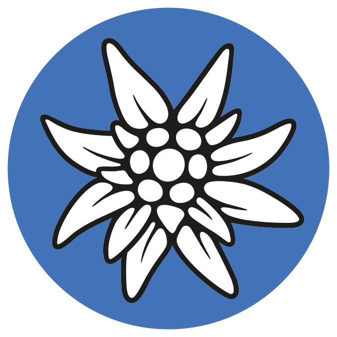 Alpenverein-Edelweiss, Alpenvereinslogo,  Logo Alpenvereinsakademie