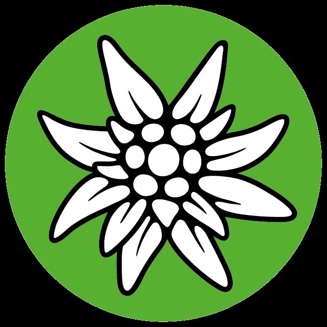 Alpenverein-Edelweiss, Alpenvereinslogo,  Logo Alpenverein