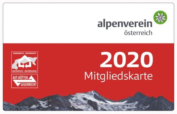 Alpenverein Mitgliedskarte 2020 - Jetzt Mitglied werden!