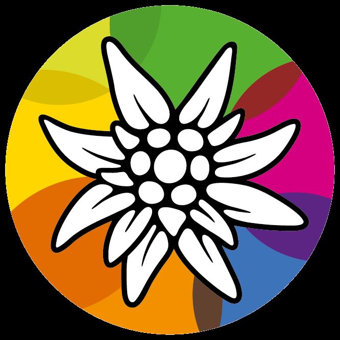 Alpenverein-Edelweiss, Alpenvereinslogo,  Logo Alpenvereinsjugend