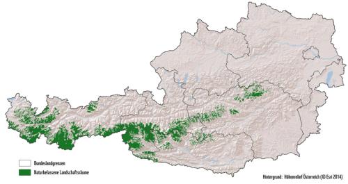 Die letzten alpinen Freiräume Österreichs