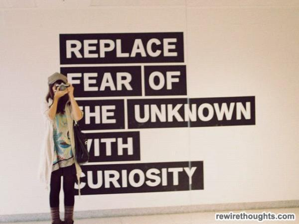 """Replace fear of the unknown with curiosity."" Foto: tentree.org"
