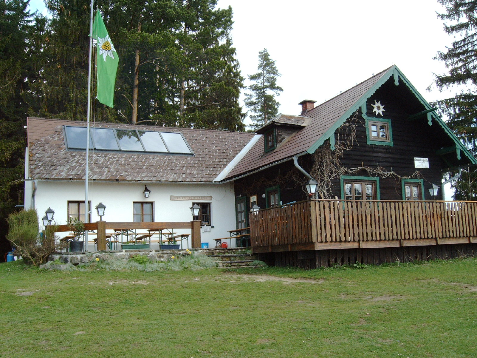 Braunberghütte (902m) - Alpenverein Freistadt