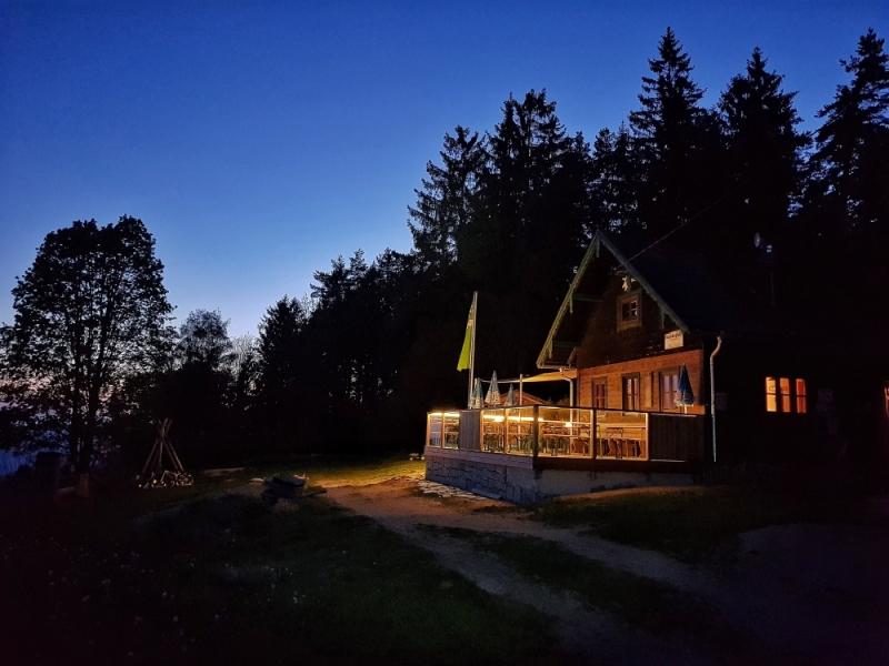 Abendstimmung Braunberghütte (c) Florian Böttcher