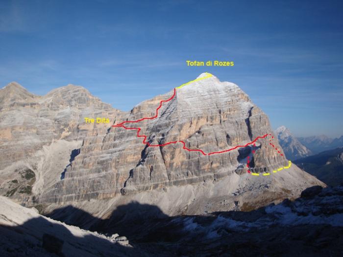 Klettersteige - Ampezzaner Dolomiten - Via Ferrata Giovanni Lipella auf die Tofana di Rozes