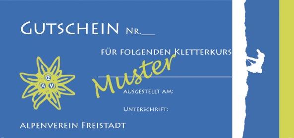 Gutschein-Kletterkurs