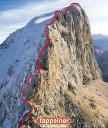 Marmolada-Westgrat-Klettersteig