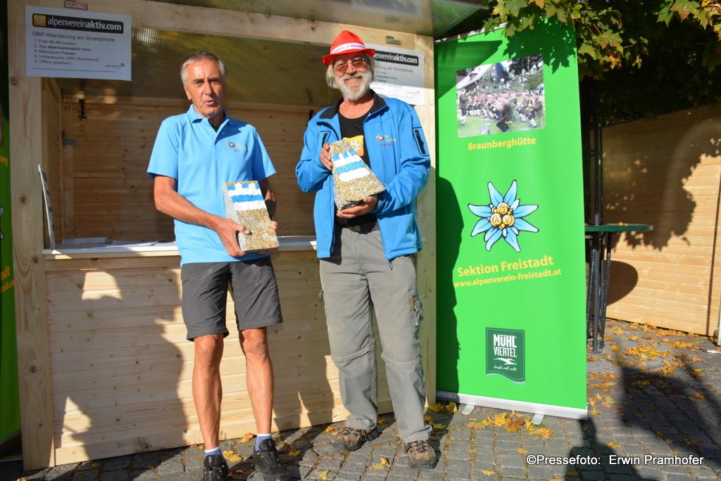 Alpenvereinsstand am ORF Wandertag. Foto (c) Erwin Pramhofer