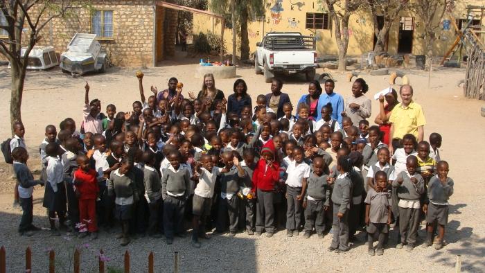 Opuwo Christian School von Ursula & Pieter de Villiers