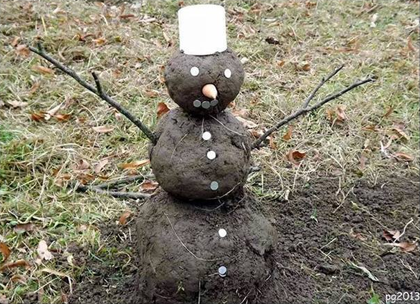 Schneemann - (c) lawinenwarndienst.blogspot.co.at