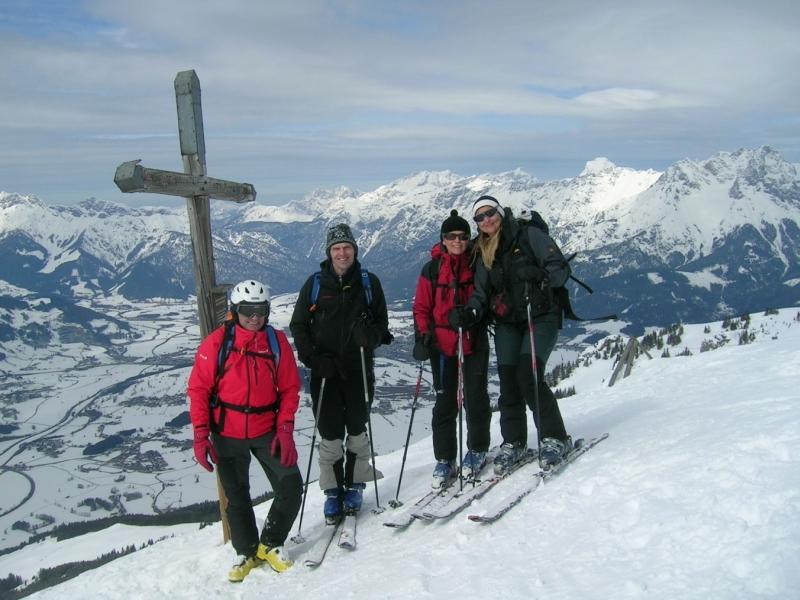 Skitouren am Hochkönig-Schwalbenwand (21./22. März 2009)