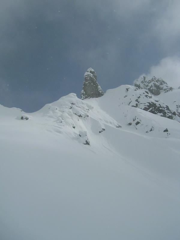 Skitouren am Hochkönig-Taghaubenscharte (21./22. März 2009)