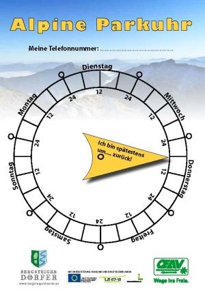 Alpine Parkuhr