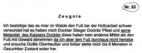Dankschreiben an Gottlieb Oberhauser (c) thewritingfranz.wordpress.com
