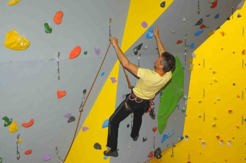 Herbert Holy beim Fotoshooting Klettern ohne Grenzen (c) www.foto-filipp.at