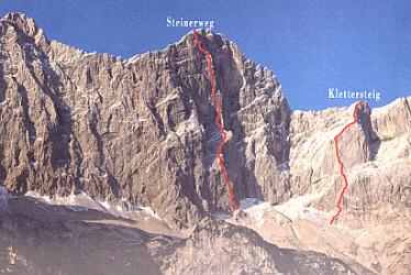 Klettersteig Johann : Dachstein m klettersteig dachsteingebirge