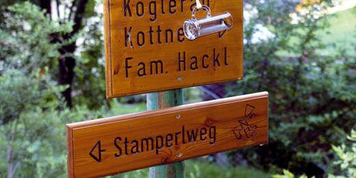 Stamperlweg © Neuweg/Peham