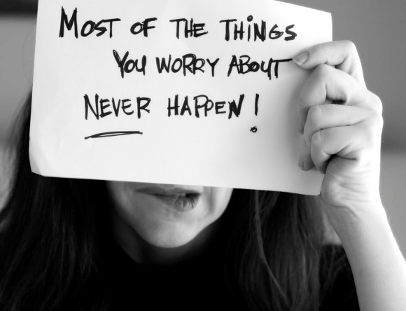 """Most of the things you worry about never happen."" Foto: www.revelife.com"